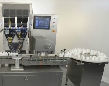 מכונה אוטומטית לספירת טבליות