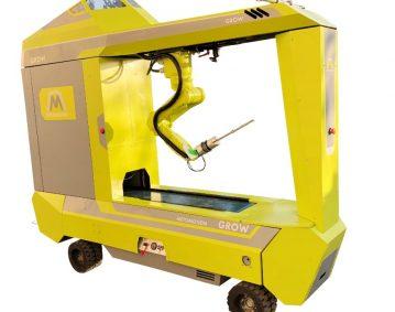 רכב אוטונומי - רובוט לקטיף עגבניות